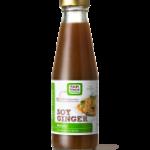 Soy ginger kip met mango en rijst