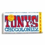 Psst, Tony's komt met 2 witte chocoladerepen..