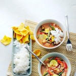 Stoofpotje met rode Thaise curry